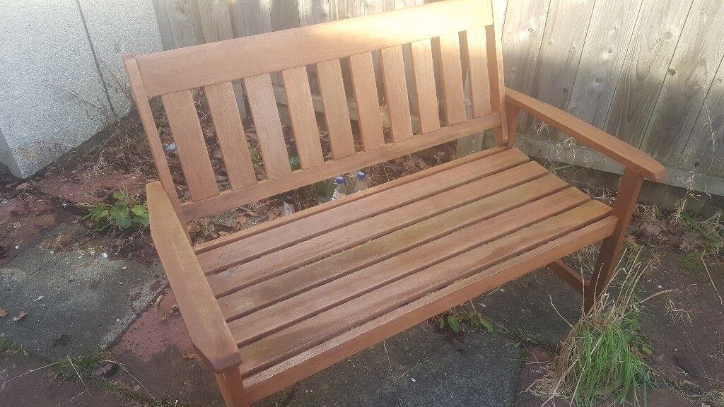 Wooden Garden Bench In Dunfermline Fife Gumtree