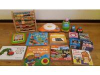 Toddler books/ toys