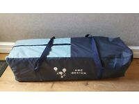 ABC Design Holiday fold up cot in travel bag.