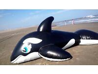 Blow up whale