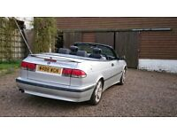 Beautiful Saab 9-3 Convertible 2.0 Turbo