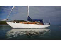 38'7 CRUISING YACHT by McGruer, gorgeous £49500 just reduced-would consider a trade in.