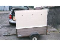 box trailer in good solid condition