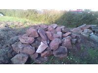 limestone rocks for gardening projects