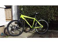 "Diamondback Overdrive Hardtail Mountain Bike - 26"" Wheels, 18"" Frame, 21 Speed"