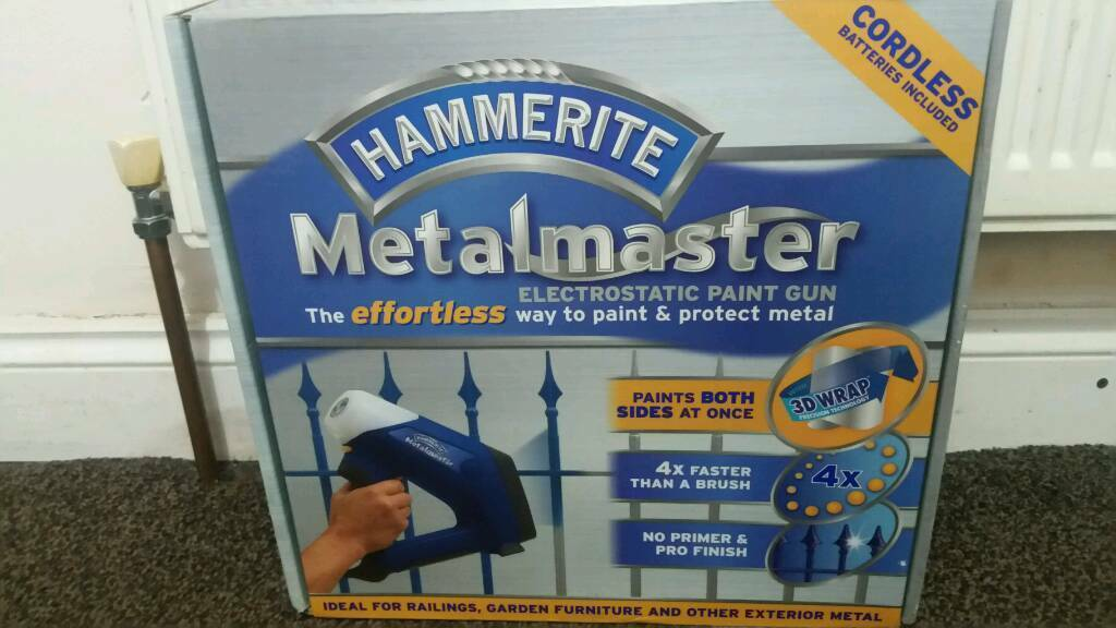 Metalmaster electrostatic paint cordless gun, brand new
