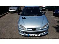 £650 Peugeot 206 XSI 1.6 2004 silver