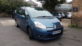 Citroen Model 1.6 HDI diesel C4 Grand Picasso Vtr+ Hdi Automatic 7 seater NEW MOT