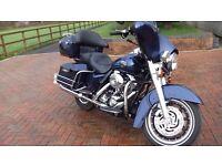 2007 Harley Davidson Electra Glide 1600 cc 14000 miles