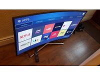 SAMSUNG 49-inch CURVED ULTRA SLIM SUPER SMART 4K LED TV,built in Wifi,GREAT Condition