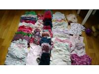 Girl baby bundle 6-9 month's over 55 items