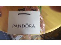 4x Unused Pandora Bags