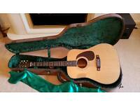 Hudson HDM-1 ALL SOLID Acoustic Guitar