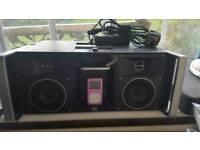 Altec lansing radio aux stereo speaker