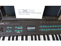 Yamaha DX21 vintage synth