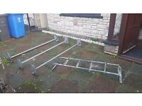 David murphy roof rack with ladders.