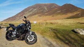 2016 Yamaha MT-07 ABS Matt Grey