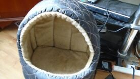 one cat bed. Great condition,