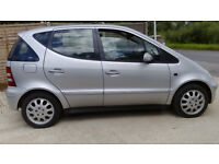 Mercedes A Class 5 Door, 53 reg, Air Conditioning, Power Steering, Electric Windows, New Tyres £595
