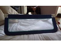 Gone - Safety first bed guard in blue - for free!