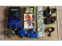 For sale two Nintendo consoles and 10 games