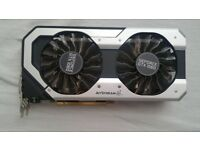 Graphis card Palit Geforce 1060 6GB SuperJetStream - like new