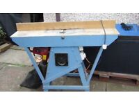 Planer /Reducer with custom made table