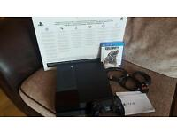 Playstation 4 500gb Black with Call of Duty