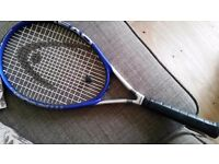 Head Titanium Tennis Racquet in cover + 8 Balls for sale