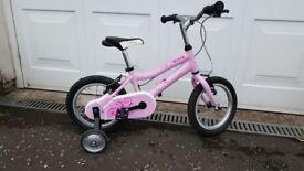 """Girls Ridgeback Honey 14"""" bike (almost new)"""