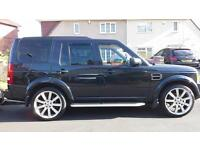land rover discovery 3 TDV6 HSE 2005 plate LOWER TAX BAND