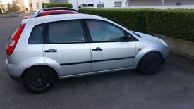 Silver Ford Fiesta - Immediately Available
