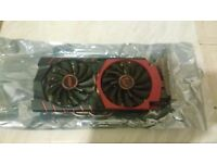 MSI NVIDIA GTX 960 2gb graphics card for sale