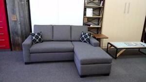 Sofa Studio ou sectionnel de qualité institutionnelle, fait à Montréal