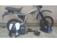 KLR 650, Frame and Fearns (Good condition, no engine)