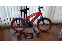 Spiderman 16inch bike