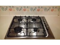 Good condition and in full workjng order Zanussi 4 burner hob. Selling due to kitchen refit.
