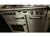 Range master dual fuel cooker 90cm