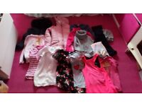 Girls clothing bundle 8-9 years