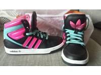 Adidas ortholite Hi tops