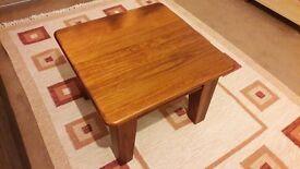 Australian solid eucalyptus wood coffee table