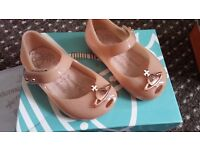 Baby Girls Vivienne Westwood Nude Shoes