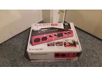 Focusrite Scarlett 18i6 USB Audio Interface For Sale.