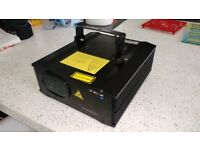 Laserworld ES-400 RGB (needs calibrating)