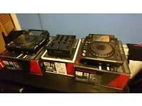 2x Pioneer XDJ 1000 & DJM 350