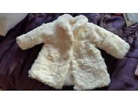 Baby girl coats x 2 3-6 months