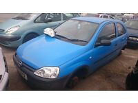 2001 OPEL CORSA, 1LT PETROL, BREAKING FOR PARTS ONLY, POSTAGE AVAILABLE NATIONWIDE