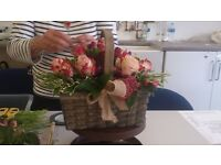Floristry tuition. Swansea to Cardiff.