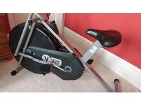 Elliptical Crosstrainer Trainer Exercise Bike Bicycle V-Fit Mini Computerised Cardio
