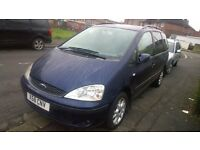 Ford Galaxy Blue 1.9TDi 6-Speed 7-seater 12 months MOT, 6-speed Avg 45MPG £749